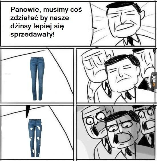 Popyt na dżinsy