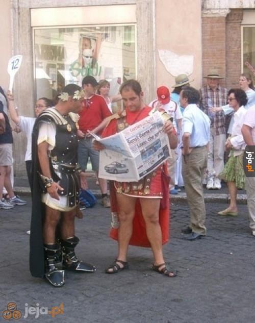 Tymczasem w Rzymie...