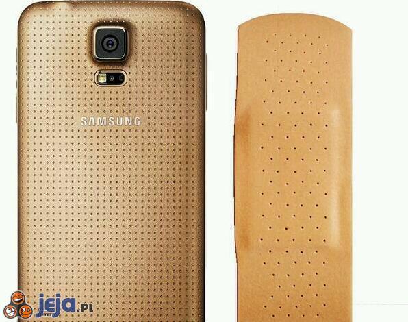 Nowy Samsung Galaxy S5 w kolorze złota