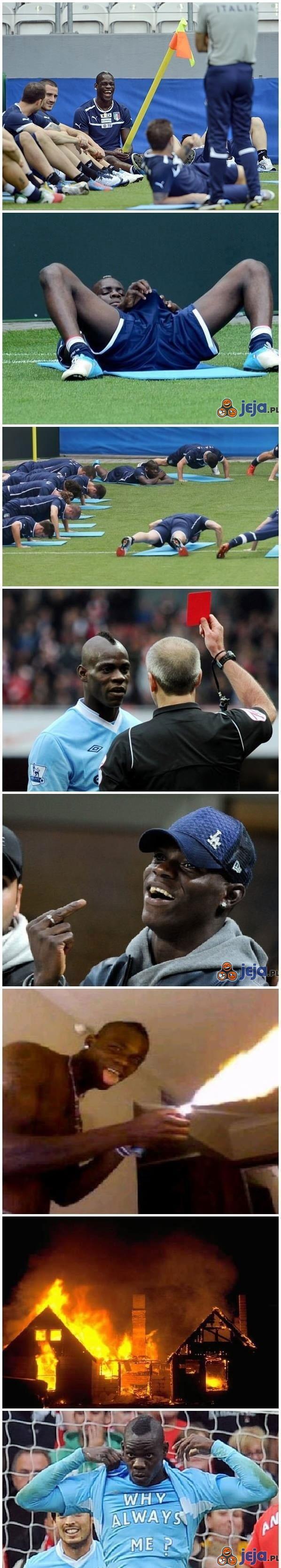"""Mario """"Włoska Zadyma"""" Balotelli"""