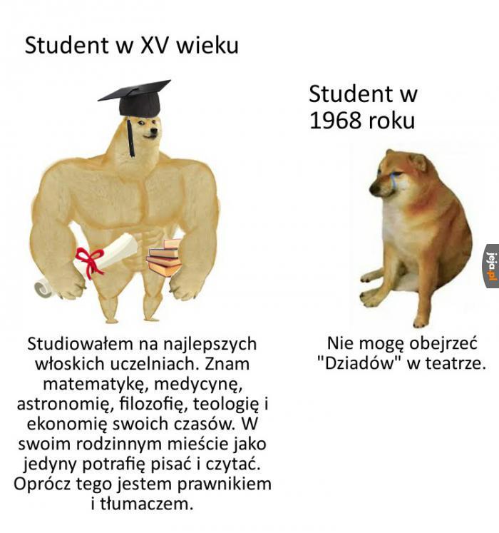 Kiedyś to byli studenci