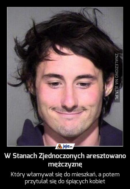 W Stanach Zjednoczonych aresztowano mężczyznę