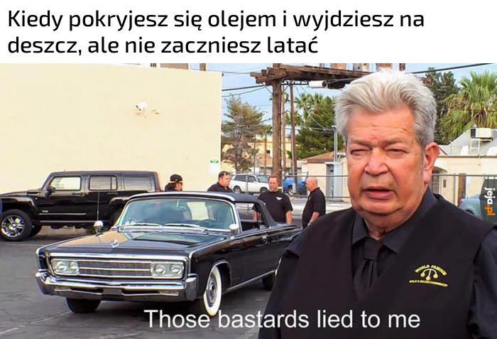 Memy mnie okłamały