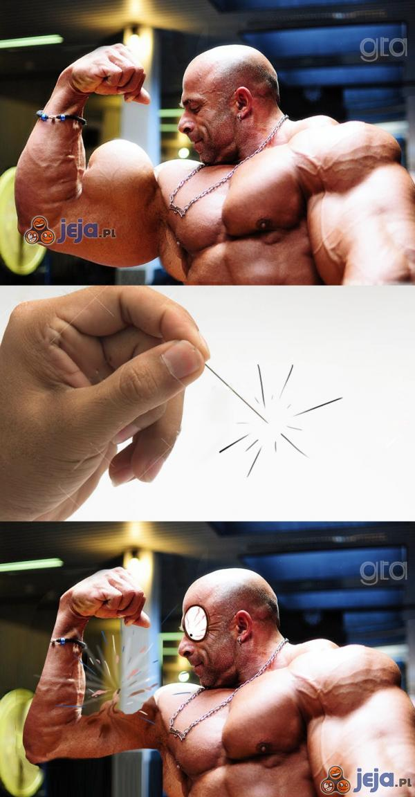 Balonowe mięśnie