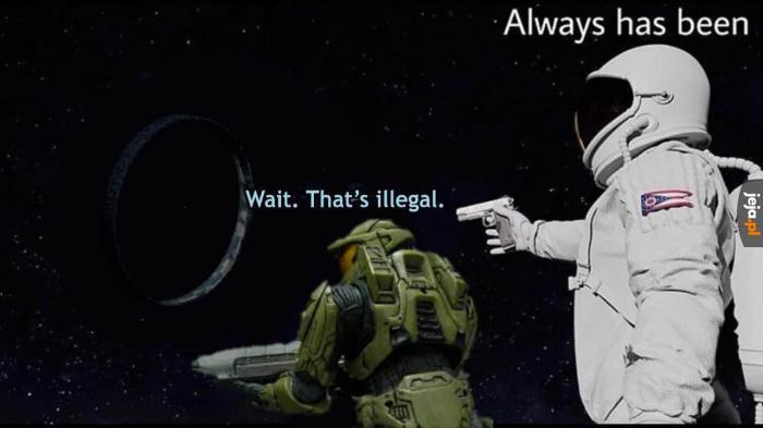 A więc wszystko jest nielegalne?