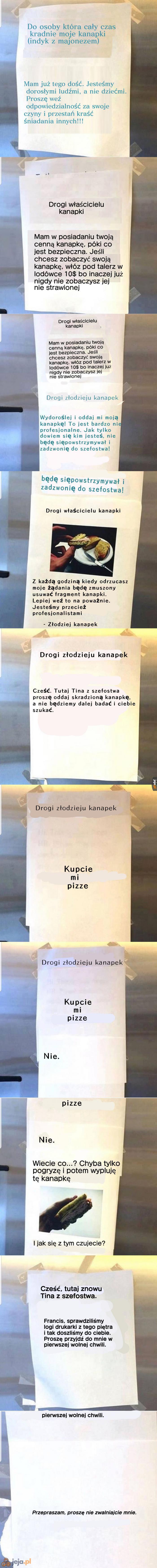 Odyseja kanapkowa