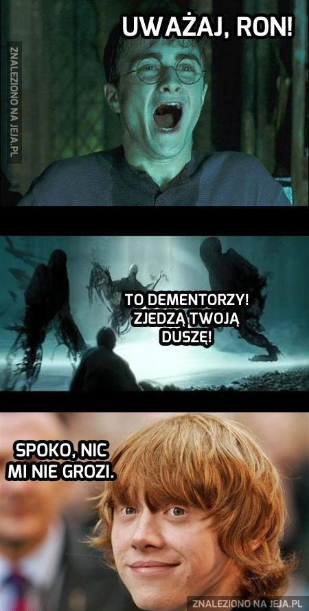 Pfff, Dementorzy sobie mogą...