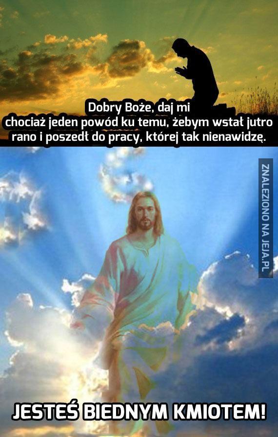 Bóg radzi, Bóg odpowiada