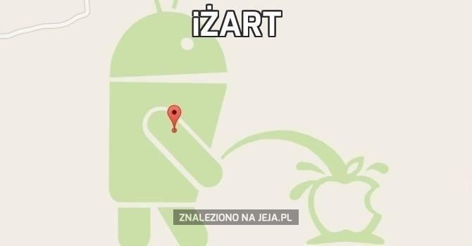 Tymczasem na mapach Google