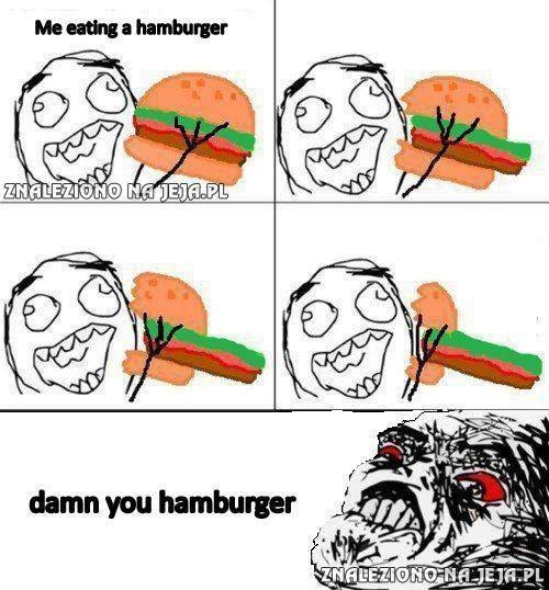 Och, ty hamburgerze!