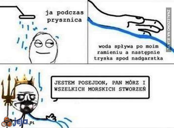 Jestem Posejdon!