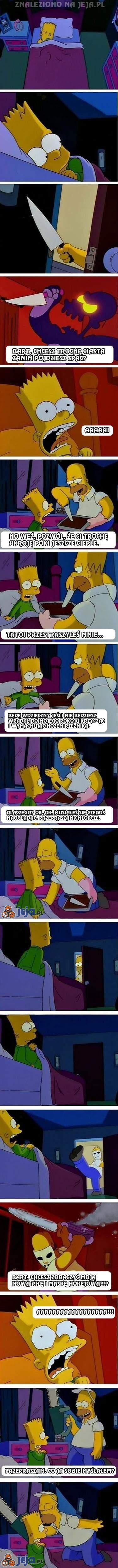 Homer Simpson - kochający ojciec