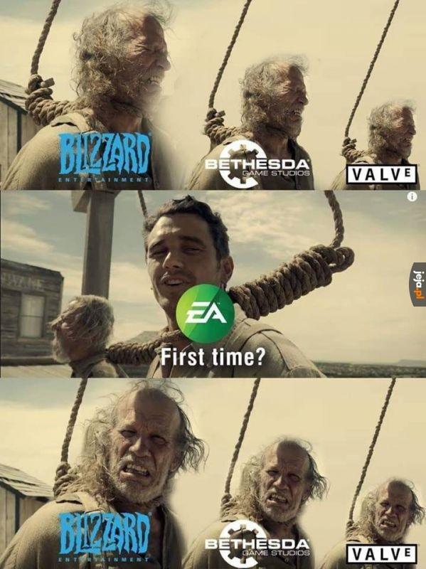 EA ma doświadczenie na szafocie