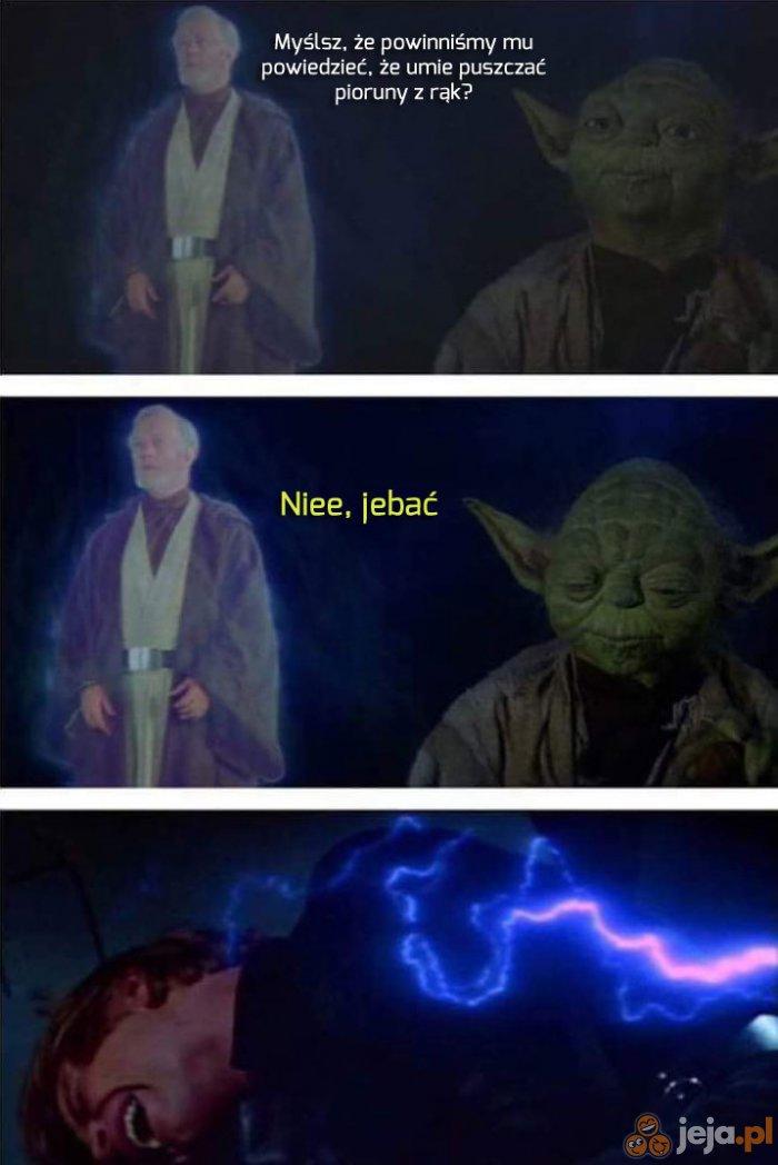 Luke to dobry ziomal był, szkoda go