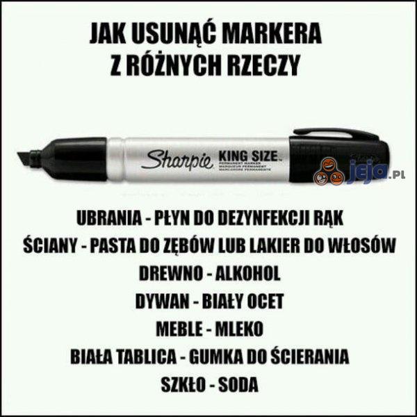 Problem z markerem?