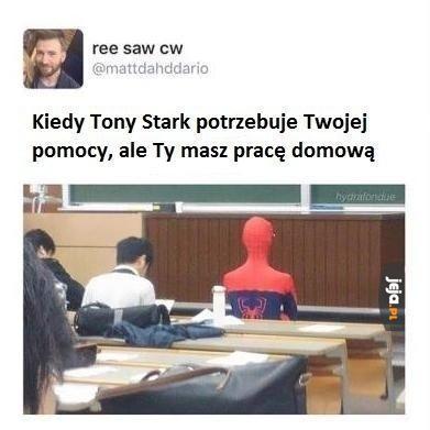 Kiedy Tony Stark potrzebuje Twojej pomocy