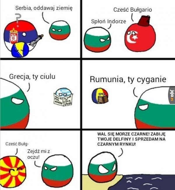 Bułgaria taka agresywna