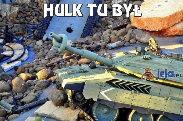 Hulk tu był