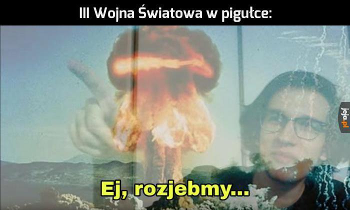 I tu bomba i tu jeszcze...