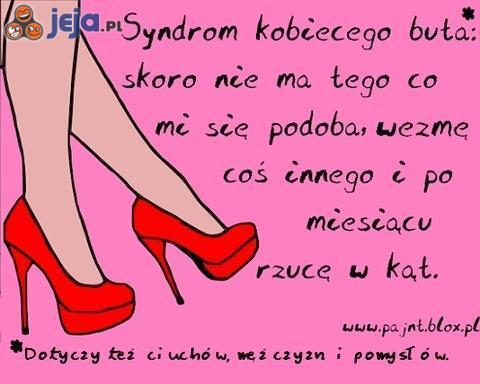 Syndrom kobiecego buta