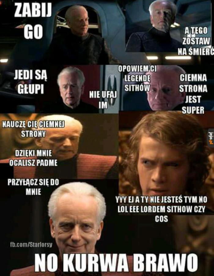 Jedi sprawiają wrażenie lekko upośledzonych