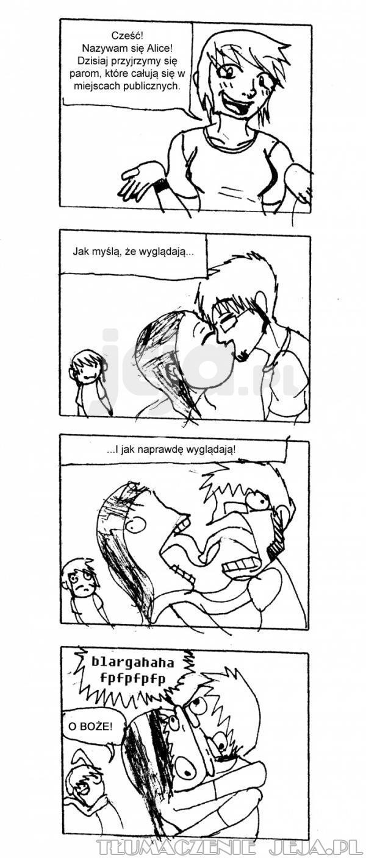 Pocałunki w miejscach publicznych