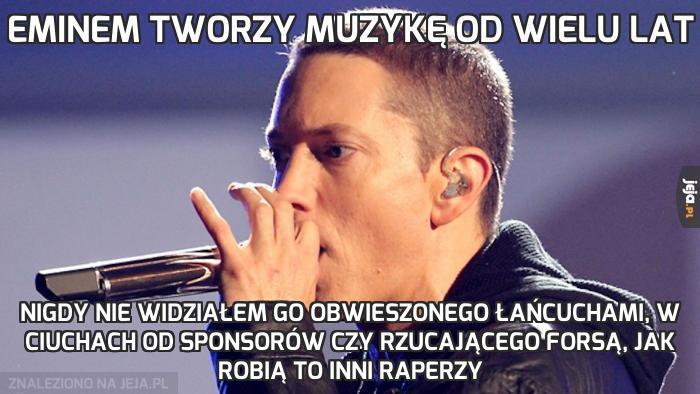 Eminem tworzy muzykę od wielu lat