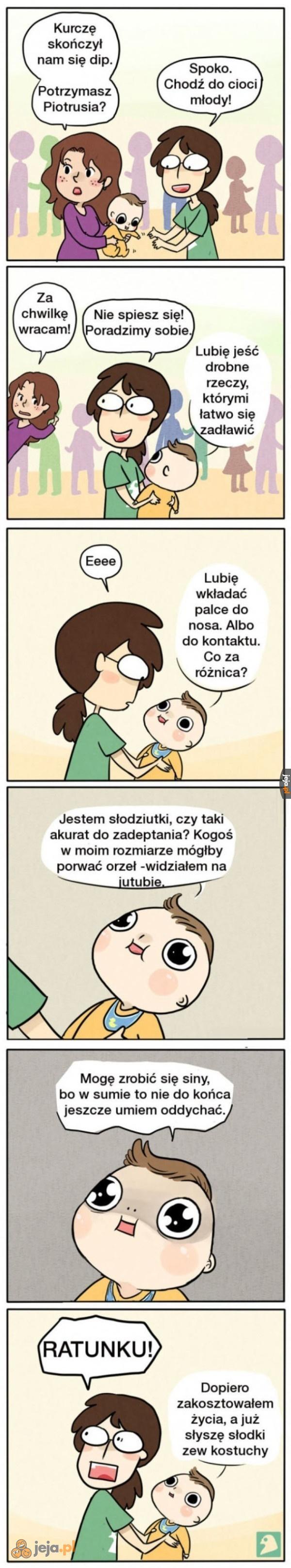 Kiedy mam potrzymać dziecko