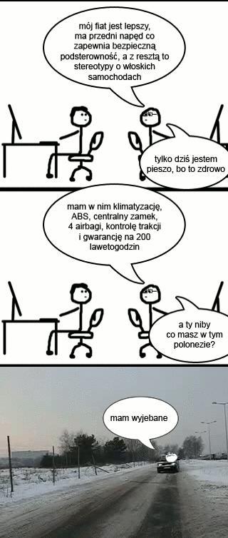 Co Ty masz w polonezie?