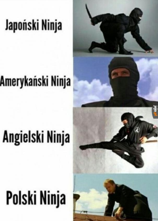 Jaki kraj, taki ninja