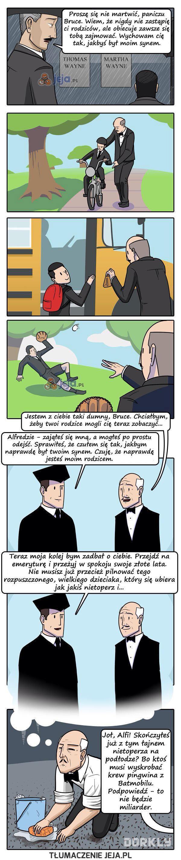 Alfred ma przerąbane