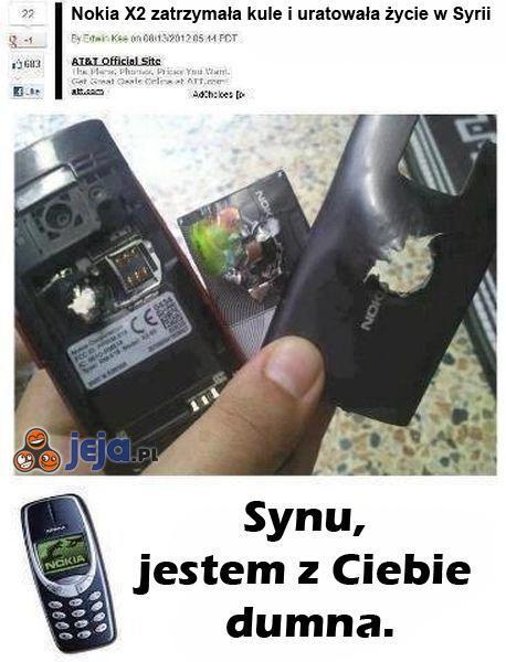 Kuloodporna Nokia