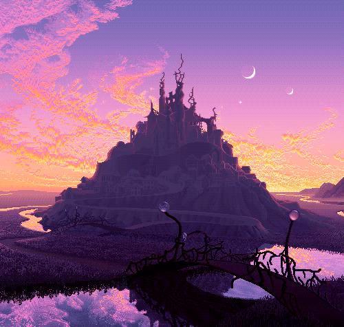 Pikselowy zamek