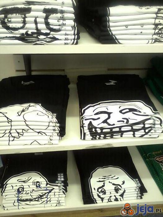 Trollowanie na półkach