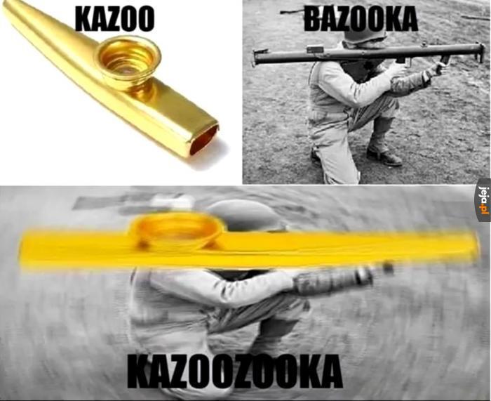 Idealna broń nie istnie...