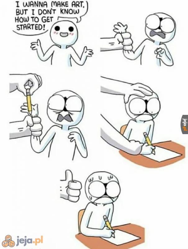 Artystyczne śmieszki