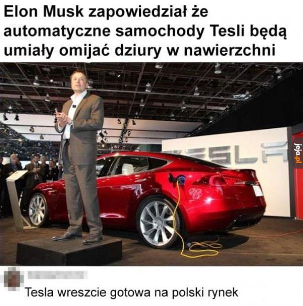 Tesla wreszcie zawita do Polski