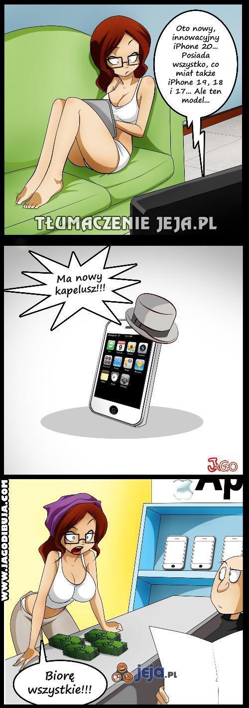 Apple wie, jak trafić w gusta