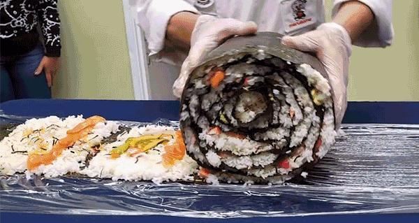 Ogromne sushi