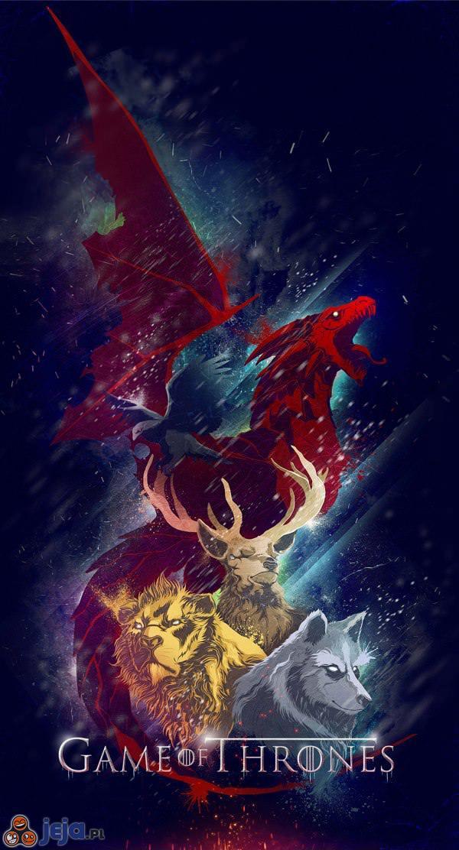 Gra o Tron w wersji rysunkowej