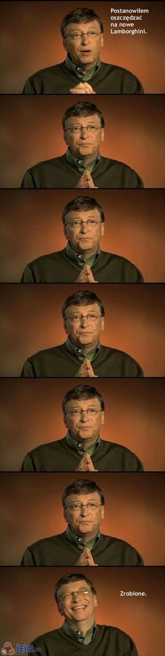 Bill Gates zaczyna oszczędzać