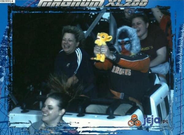 Najlepsze zdjęcie z Roller Coastera