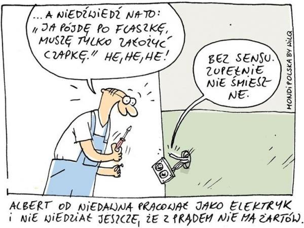 Albert elektryk i prąd