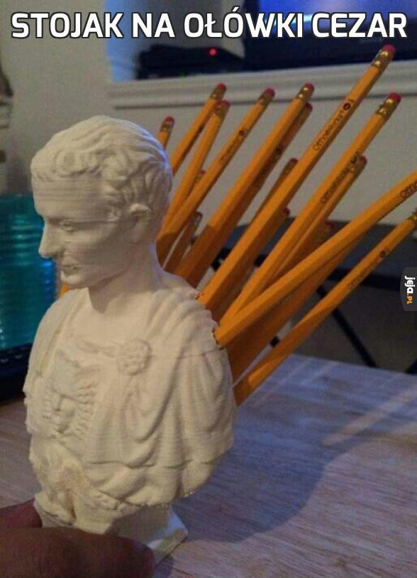 Stojak na ołówki Cezar