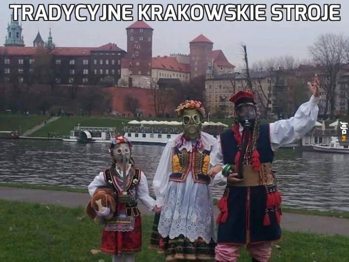 Tradycyjne krakowskie stroje