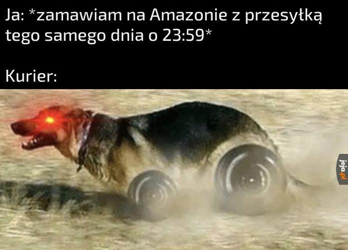 Jestem prędkością!