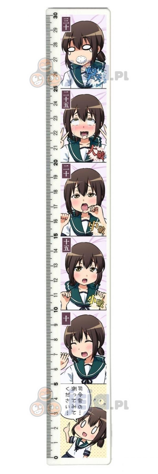 Typowo japońska linijka