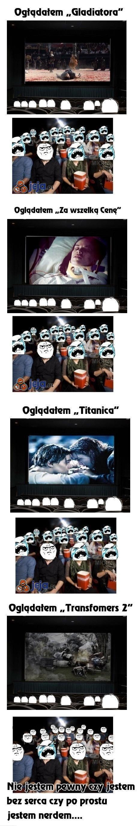 Oglądałem różne filmy...