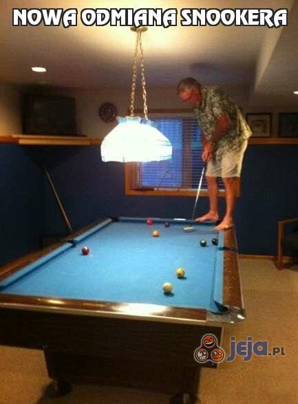 Nowa odmiana snookera