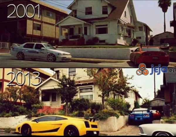 Czasy się zmieniają 2001 vs 2013